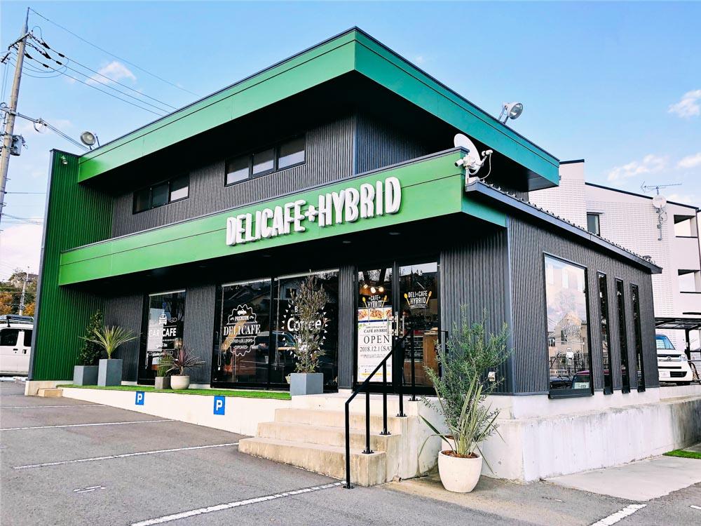 CAFE HYBRID神戸本店